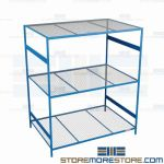 long span wire mesh shelving and warehouse steel shelves are Rousseau SRD5158W