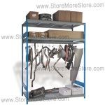large automotive parts storage rack srp0404