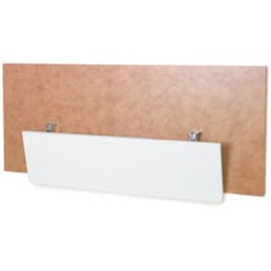 "10"" x 24"" Poly, Wall Mounted Drop Table/Shelf, #SMS-83-DSP-1024"