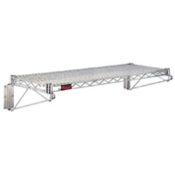 "14"" x 36"" Valu-Master® Finish - Wire Wall Shelf Kits, #SMS-83-GWB1436V"