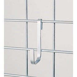 "2-1/4"" x 4-1/4"" x 3/8"" Large Snap Hook. Made of Heavy Gauge Chrome-Plated Mild Steel, #SMS-83-LH"