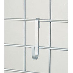 "1-1/4"" x 4-1/4"" x 3/8"" Small Snap Hook. Made of Heavy Gauge Chrome-Plated Mild Steel, #SMS-83-SH"