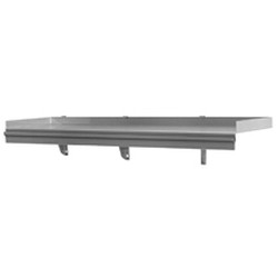 "12"" x 96"" Snap-N-Slide® with Ticket Rail. 360 Lbs. Weight Capacity, #SMS-83-SWS1296TR-16/4"