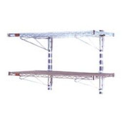 "18"" x 48"" Double Shelf Kit - Walstor® Modular Wall System, #SMS-83-WAL-2-1848"