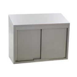 "120"" Wall Cabinet with Sliding Doors, (120""W X 15""D X 28""H) #SMS-83-WCS-120"