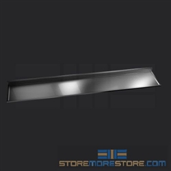 "138"" Stainless Steel Countertop with Marine-Grade Plywood - Square Edge, #SMS-84-CTW30138-SQ"