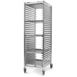 "20-1/2"" x 26"" x 69-1/4"" Front Load - All-Welded, Solid Tray Rack, #SMS-85-OUR-1830-2/W"