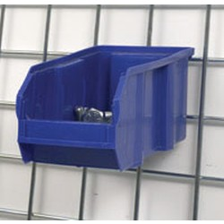 "10-7/8"" x 5-1/2"" x 5"" Small Plastic Bin. Requires One Pbh (Plastic Bin Holder), #SMS-86-A203877"