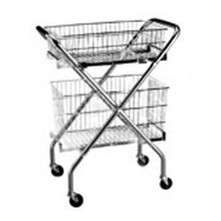 "14-1/4"" x 24-1/2"" x 12"" Basket for Basket Carts, #SMS-86-A203929"