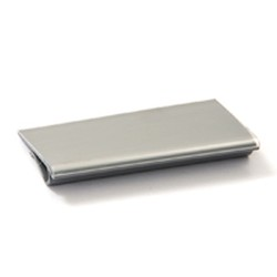 "3"" Gray Plastic Label Holders for Standard Shelving. Fits All Shelf Lengths, #SMS-86-A204331"