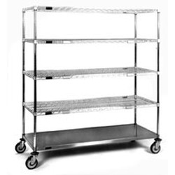 "21"" x 48"" x 69"" Exchange Cart - Ecs Series, #SMS-86-ECS2148C"