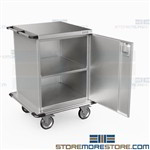 Surgical Case Carts Operating Room Instrument Storage Transport Eagle ELCSC-2