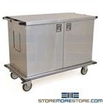 Case Carts For Surgery Rooms Hospital Operating Rooms Closed Carts Eagle ELCSC-5