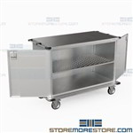 Case Carts Hospitals Surgical Instrument Carts Hinged Doors Eagle ELCSC-6