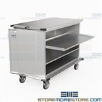 Surgical Procedure Carts Transporting Instruments Hospital Medical Eagle ELCSC-6