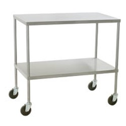 "18"" x 34"" Instrument Table with Undershelf, #SMS-86-ITU1834"
