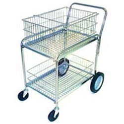 "28"" x 47"" x 38-1/2"" Mail Cart, #SMS-86-MC-1"