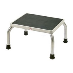 "11"" x 14"" x 9"" Chrome Finish, Foot Stool, #SMS-86-SFS14C"