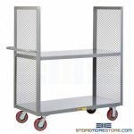 Open Sided Shelving Cart Industrial Trolley Truck Material Handling Storage Dolly