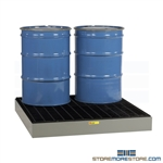 Sump Stand for Large Drums Fluid Pit Pallet Portable Stan 55 Gallon
