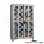 Viewable Door Storage Cabinet Inspecting Materials Maintenance Tools Heavy-Duty