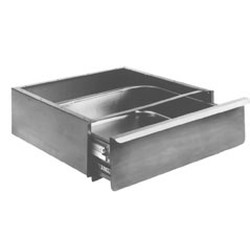 "20"" x 15"" x 5"" Drawer with Pull Flange and Full Front. Tables Must Be Field Drilled for Mounting, #SMS-88-502942"