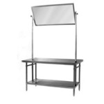"36"" x 72"" Spec-Master® Demo Table with 24"" x 61"" Mirror, #SMS-88-DT3672SE"