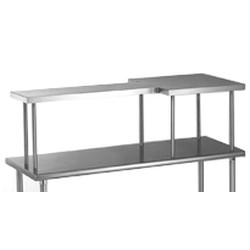 "12"" x 96"" Table Mounted Shelf, Right Side Model, #SMS-88-MOS1296R"