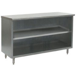 "15"" x 60"" Open Base, Spec-Master® Plate Cabinet with 4 Legs, #SMS-88-PC1560SE-CS"