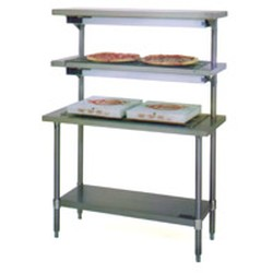 "21"" x 48"" Pizza Holding Table, 120 Voltage, 5.62 Amps, 675 Watts, #SMS-88-PIH48-120"