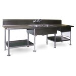 "30"" x 96"" Spec-Master® Marine Prep Table, #SMS-88-SMPT3096"
