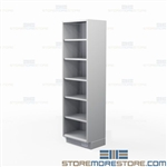 Stainless Adjustable Shelving | Tall Open Commercial Stainless Shelving