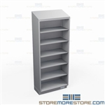 Solid Stainless Storage Racks | Open Industrial Storage Cabinet