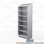 Solid Stainless Open Racks | Commercial Open Front Shelving
