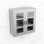 Wall Hung Stainless Casework | Overhead Wall Mounted Cabinet