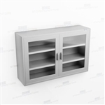 Wide Wall Stainless Cabinet | Commercial Overhead Cupboard