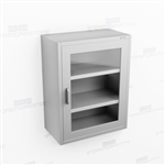 Wall Mount Stainless Cabinet | Overhead Mount Steel Casework
