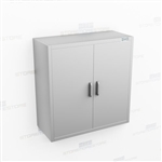 Stainless Wall Storage Cabinet | Overhead Stainless Shelving