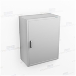 Narrow Stainless Wall Cabinet | Medical Casework with Door