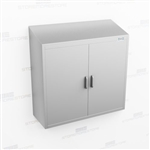 Narrow Overhead Stainless Cabinet | Wall Mounted Cupboard