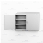 Wide Medical Wall Stainless Cabinet | Wall Overhead Cupboard
