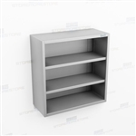 Open Wall Mounted Stainless Cabinet | Steel Storage Casework