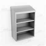 Open Medical Wall Stainless Casework | Steel Storage Cabinet