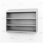 Open Wall Mounted Stainless Casework | Steel Storage Racking