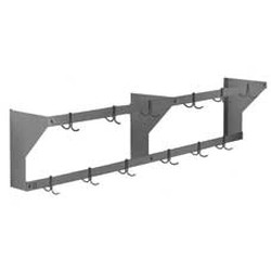 "144"" Aluminum Wall Mounted Rack, #SMS-88-WM144APR"