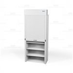 roll down tambour doors for storage racks