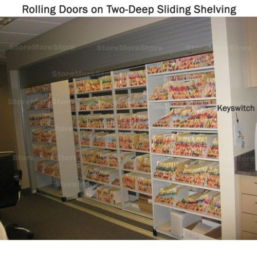 Free Dock To Dock Shipping On Roll Up Shelving Tambour Doors