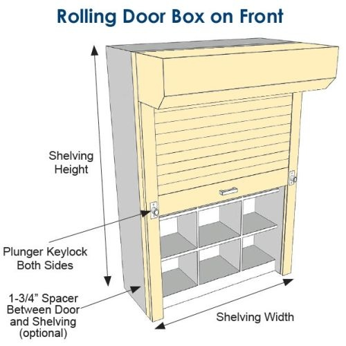 Superieur Free Dock To Dock Shipping On Tambour Doors For Metal Shelving