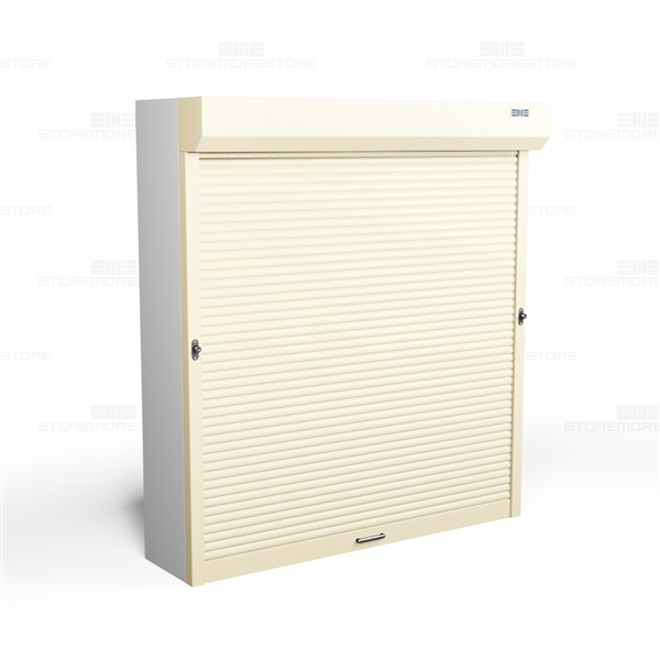 Push Button Shelving Doors Motorized Security Cabinet Doors Sms
