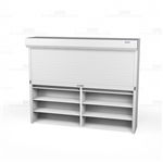 motorized file shelving doors